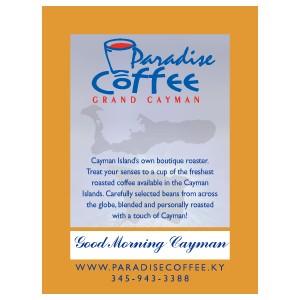 Paradise Coffee Good Morning Cayman