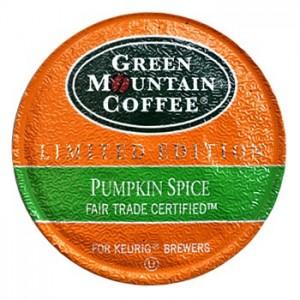 GMCR Pumpkin Spice - Seasonal