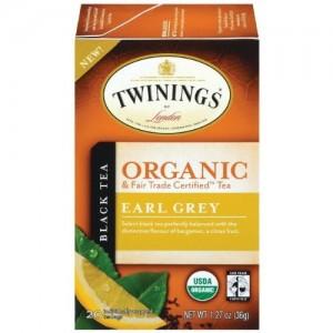 Twinings Organic Earl Grey