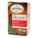 Twinings Organic Breakfast Blend tea bags