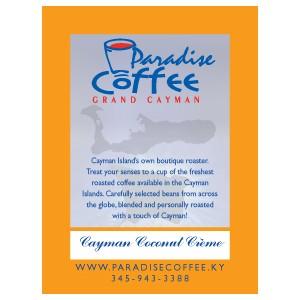 Paradise Coffee Cayman Coconut Creme