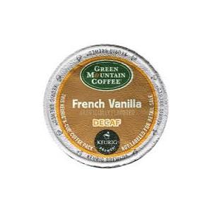 GMCR Decaf French Vanilla